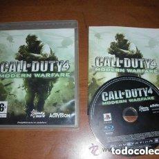 Videojuegos y Consolas: JUEGO PLAY 3 CALL OF DUTY 4 MODERN WARFARE. Lote 139132642