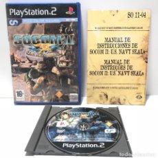 Videojuegos y Consolas: SOCOM II: U.S. NAVY SEALS PLAYSTATION 2 PS2. Lote 139171810