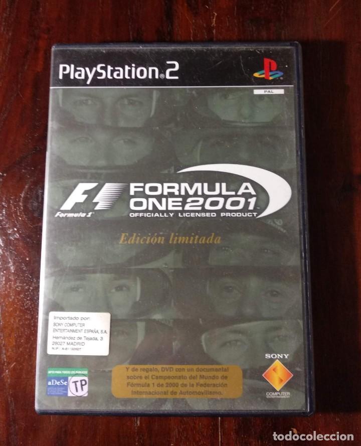 F1 - FORMULA ONE 2001 - PS2 - EDICION LIMITADA - VER FOTOS (Juguetes - Videojuegos y Consolas - Sony - PS2)