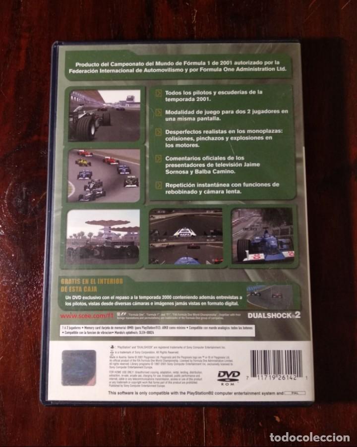 Videojuegos y Consolas: F1 - formula one 2001 - ps2 - edicion limitada - ver fotos - Foto 5 - 139244806