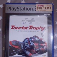 Videojuegos y Consolas: JUEGO PLAYSTATION PS2 - TOURIST TROPHY PLATINUM - REAL RIDING SIMULATOR - SIMULADOR MOTOS COMPLETO. Lote 139536970