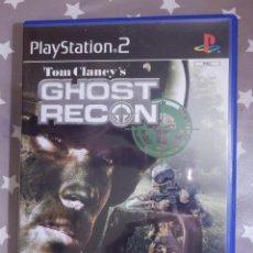 Videojuegos y Consolas: JUEGO PLAYSTATION PS2 - GHOST RECON - TOM CLANEY´S. Lote 139547610