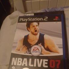Videojuegos y Consolas: NBA LIVE 07 PS2. Lote 140152286