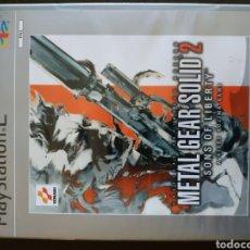 Videojuegos y Consolas: METAL GEAR SOLID 2 PS2. Lote 140471045