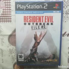 Videojuegos y Consolas: RESIDENT EVIL OUTBREAK FILE 2 PS2 NUEVO PRECINTADO. Lote 140860674