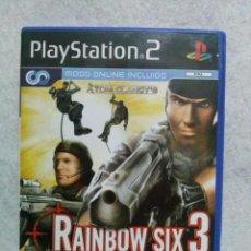 Videojuegos y Consolas: JUEGO PLAYSTATION 2 *RAINBOW SIX 3* .... EN BUEN ESTADO (APENAS SEÑALES DE USO). Lote 141132442