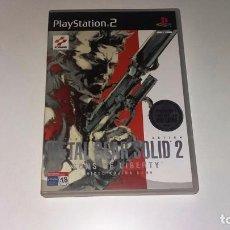 Videojuegos y Consolas: METAL GEAR SOLID 2 SONS OF LIBERTY PS2 - 2 DISCOS COMPLETO. Lote 141821106