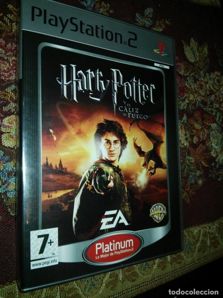 HARRY POTTER Y EL CALIZ DE FUEGO PS2 PLAYSTATION TWO PLAY STATION 2 (Juguetes - Videojuegos y Consolas - Sony - PS2)