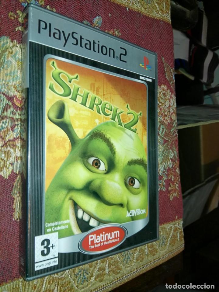 SHREK 2 JUEGO PARA SONY PLAYSTATION 2 PLAY STATION PS2 PAL ESPAÑA (Juguetes - Videojuegos y Consolas - Sony - PS2)
