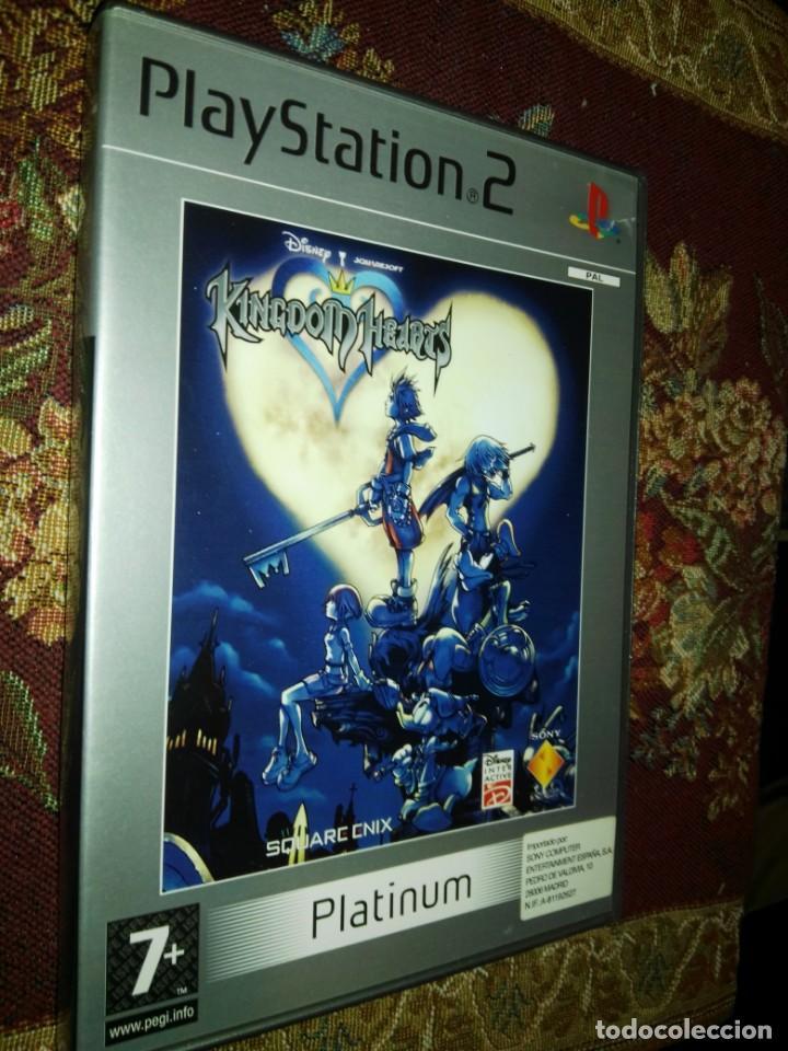 KINGDOM HEARTS DISNEY PARA SONY PLAYSTATION PLAY STATION 2 PS2 (Juguetes - Videojuegos y Consolas - Sony - PS2)