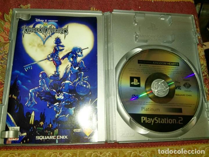 Videojuegos y Consolas: KINGDOM HEARTS DISNEY PARA SONY PLAYSTATION PLAY STATION 2 PS2 - Foto 2 - 155516436