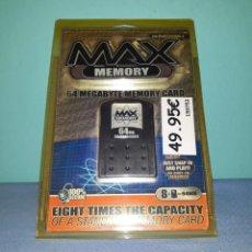 Videojuegos y Consolas: MAX MEMORY CARD 64 MB PARA PLAYSTATION 2 A ESTRENAR VER FOTOS Y DESCRIPCION. Lote 145752117