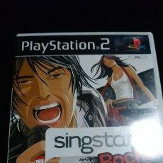 Videojuegos y Consolas: SINGSTAR ROCKS SING STAR - PLAYSTATION 2 PAL COMPLETO . Lote 142351018