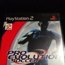 Videojuegos y Consolas: PRO EVOLUTION SOCCER - JUEGO -PLAYSTATION 2 COMPLETO. Lote 142357970