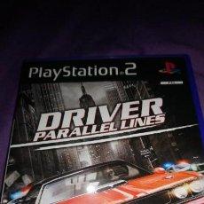 Videojuegos y Consolas: DRIVER PARALLEL LINES PS2 PLAYSTATION 2 . Lote 142363238