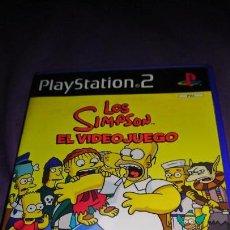 Videojuegos y Consolas: LOS SIMPSON EL VIDEOJUEGO SONY PLAYSTATION 2- COMPLETO. Lote 142367310