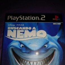 Videojuegos y Consolas: BUSCANDO A NEMO DISNEY PIXAR PAL PS2 PLAYSTATION 2 COMPLETO. Lote 142367498
