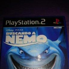 Videojuegos y Consolas: BUSCANDO A NEMO DISNEY PIXAR PAL PS2 PLAYSTATION 2 COMPLETO. Lote 142367510