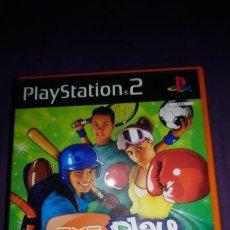Videojuegos y Consolas: EYE TOY PLAY SPORTS PS2 PAL COMPLETO. Lote 142368454