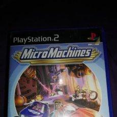 Videojuegos y Consolas: MICRO MACHINES PS2 PAL ESP COMPLETO. Lote 142368786