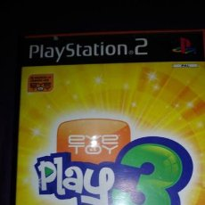 Videojuegos y Consolas: EYE TOY PLAY 3 - PS2 - PLAYSTATION 2 COMPLETO. Lote 142368986