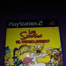 Videojuegos y Consolas: LOS SIMPSON EL VIDEOJUEGO SONY PLAYSTATION 2- COMPLETO. Lote 142369038