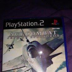 Videojuegos y Consolas: ACE COMBAT JEFE DE ESCUADRON PLAYSTATION 2. PAL ESPAÑA. Lote 142429474