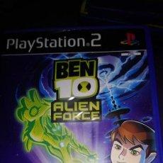 Videojuegos y Consolas: BEN 10 ( ALIEN FORCE ) - PS2 - SIENTE LA FUERZA - - PLAYSTATION 2 PAL . Lote 142453834