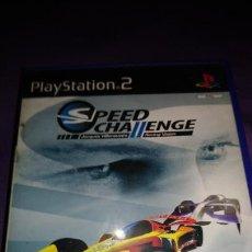 Videojuegos y Consolas: SPEED CHALLENGE- SONY PS2 - PLAYSTATION 2 PAL ESP . Lote 142461686