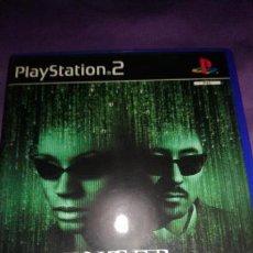 Videojuegos y Consolas: ENTER THE MATRIX PLAYSTATION 2 PS2 PAL ESP. Lote 142479862