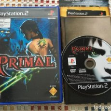 Videojuegos y Consolas: PRIMAL PS2 PLAYSTATION TWO PLAY STATION 2 KREATEN. Lote 142494286