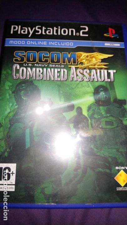 SOCOM U S  NAVY SEALS COMBINED ASSAULT PLAYSTATION 2 PAL ESP