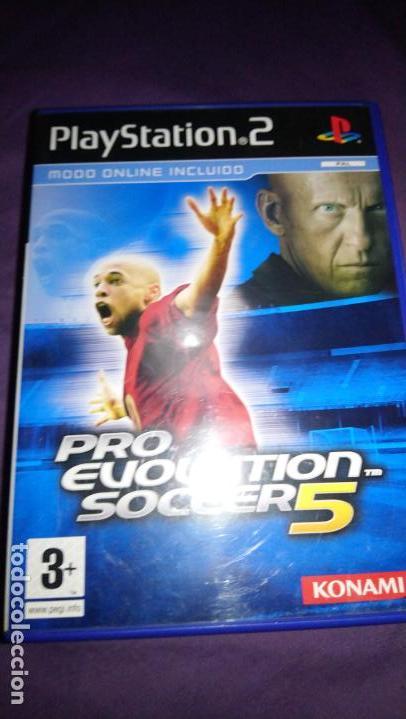 PRO EVOLUTION SOCCER 5 - JUEGO -PLAYSTATION 2 COMPLETO