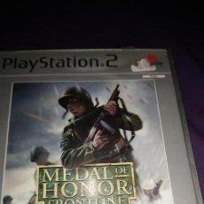 Videojuegos y Consolas: MEDAL OF HONOR FRONTLINE PS2 PLAYSTATION 2 SIN MANUAL. Lote 142877246