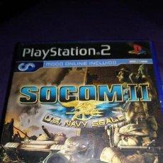Videojuegos y Consolas: SOCOM: U.S. NAVY SEALS II PS2 PLAYSTATION 2 SIN MANUAL. Lote 142878214