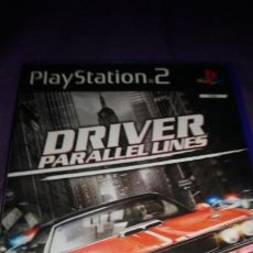 Videojuegos y Consolas: DRIVER PARALLEL LINES- SONY PLAYSTATION 2 - PS2 - PAL. Lote 142923894