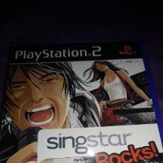 Videojuegos y Consolas: SINGSTAR ROCKS- PS2 SONY PLAYSTATION 2 PAL . Lote 142935618