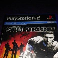 Videojuegos y Consolas: SNOWBLIND PLAYSTATION 2 PAL PS2 UK. Lote 142936026