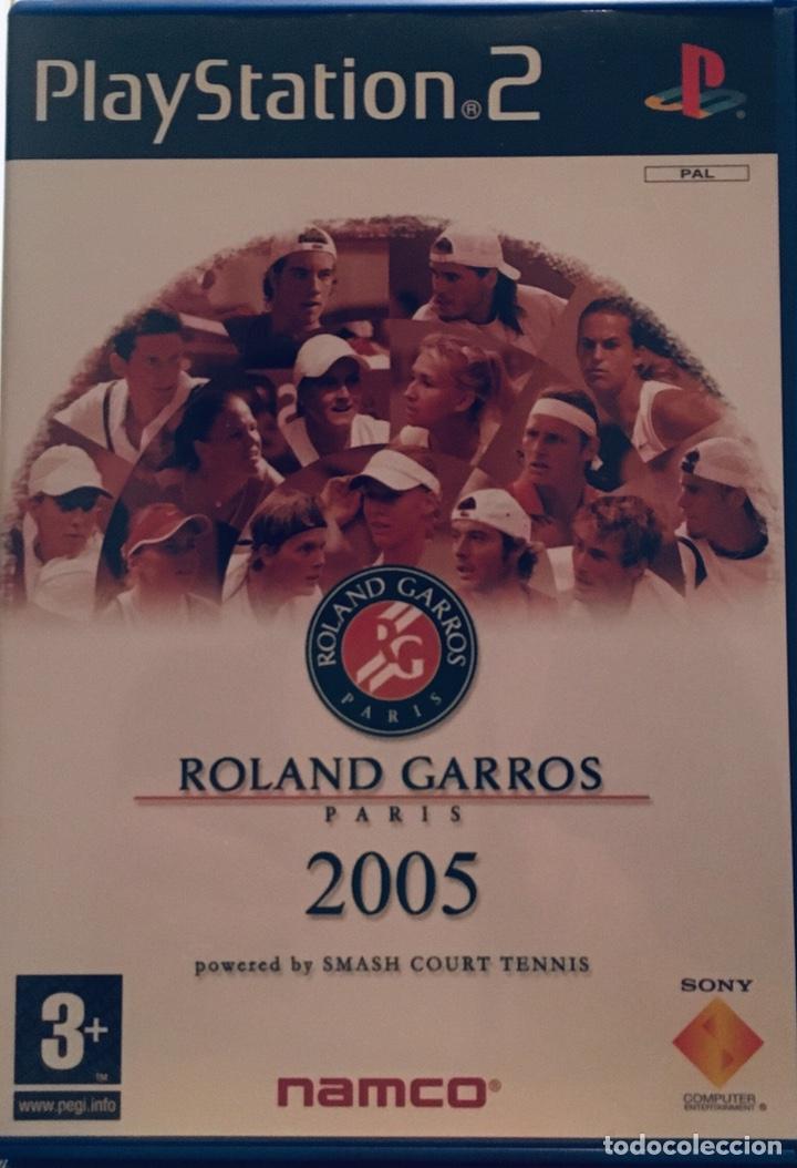 ROLAND GARROS 2005. PLAYSTATION 2 (Juguetes - Videojuegos y Consolas - Sony - PS2)