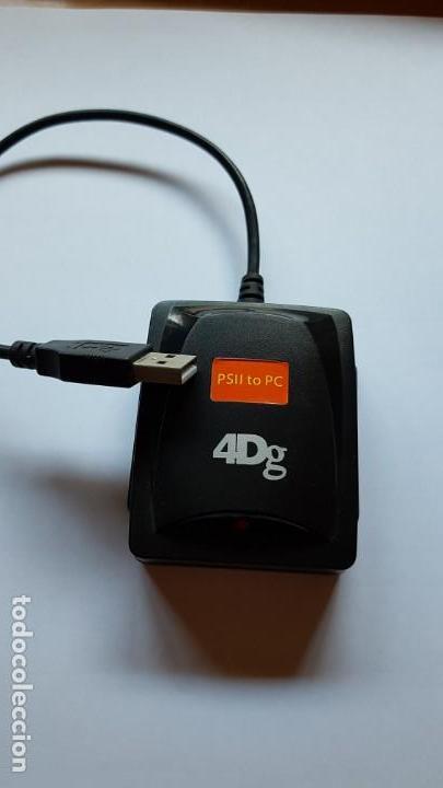 Videojuegos y Consolas: ADAPTADOR DE PS2 (PLAYSTATION 2) A USB PC 4DG - Foto 4 - 202037495