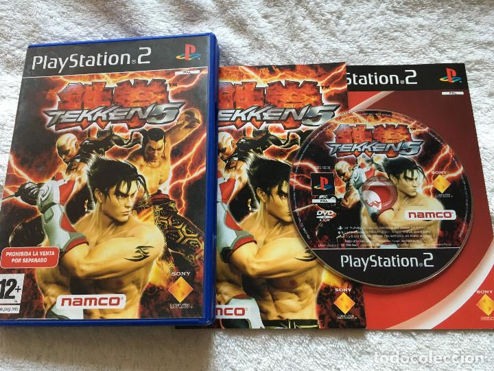 Tekken 5 Incluye 1 2 Y 3 Original Ps2 Playstati Sold Through