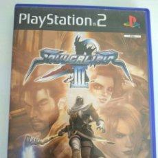 Videojuegos y Consolas: JUEGO SOUL CALIBUR 3 SONY PLAYSTATION 2 PS2 COMPLETO. Lote 143351986
