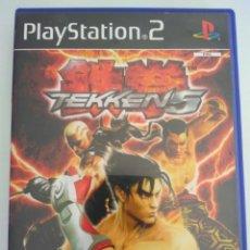 Videojuegos y Consolas: JUEGO TEKKEN 5 SONY PLAYSTATION PS2 COMPLETO. Lote 143351993