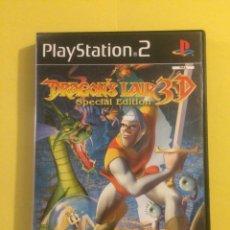 Videojuegos y Consolas: DRAGON'S LAIR 3D SPECIAL EDITION PS2 PAL. Lote 143375030