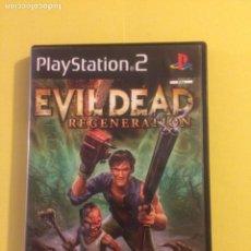 Videojuegos y Consolas: EVIL DEAD REGENERATION PAL PARA PS2. Lote 143375690