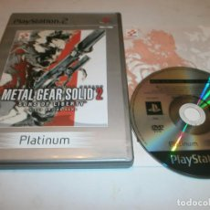 Videojuegos y Consolas: METAL GEAR SOLID 2 SONS OF LIBERTY PLAYSTATION 2 PAL . Lote 144720586