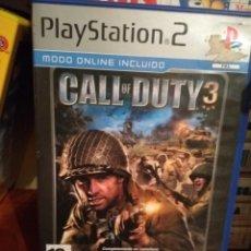 Videojuegos y Consolas: CALL OF DUTY 3 PLAYSTATION 2. Lote 145261381