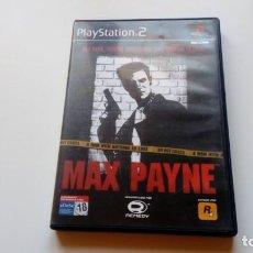 Videojuegos y Consolas: MAX PAYNE PS2 PLAY STATION 2 DOS PAL ESPAÑOL FUNCIONANDO PERFECTAMENTE. Lote 146315882