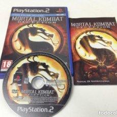 Videojuegos y Consolas: JUEGO PLAY 2 MORTAL KOMBAT DECEPTION. Lote 146323310