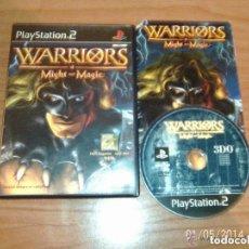 Videojuegos y Consolas: JUEGO PLAY 2 WARRIORS MIGTH AND MAGIC. Lote 146323370